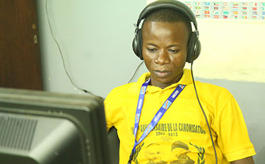 Audio and Video editor for Catholic TV and Radio in the Congo